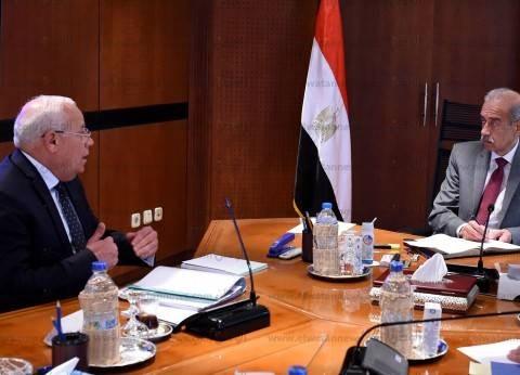 بالصور| رئيس الوزراء يلتقي محافظ بورسعيد لمتابعة الموقف التنفيذي للمشروعات
