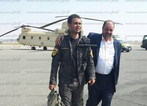 مصادر: إنقاذ النقيب رامي نصر أحد المشاركين في اشتباكات الواحات