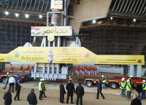 وزير الآثار يشكر الشرطة لتأمينهم مراسم نقل رمسيس إلى المتحف الكبير