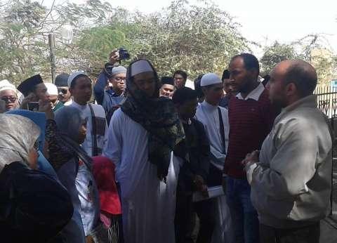 55 إندونيسيا يزورون الآثار الإسلامية في البهنسا بالمنيا