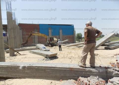 """""""زراعة كفر الشيخ"""": إزالة 35 حالة تعد على الأراضي الزراعية"""