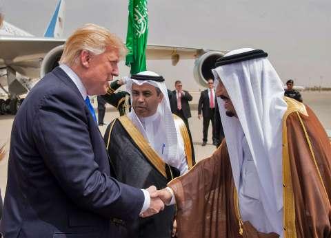 بث مباشر| استقبال ترامب في الديوان الملكي السعودي