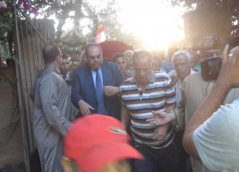 بالصور  كفر شكر تودع آخر الضباط الأحرار خالد محيي الدين