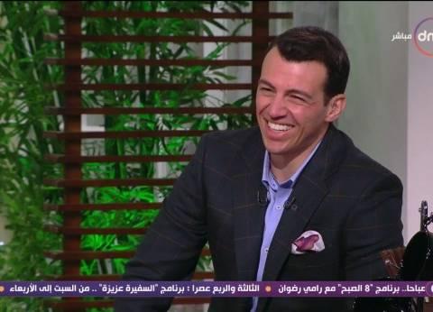 """رامي رضوان: كل العالم العربي سعد بتاهل المنتخب المصري عدا """"كشك قطر"""""""