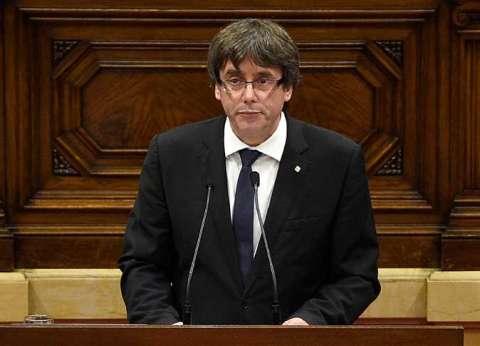 عاجل| رئيس إقليم كتالونيا المُقال يلقي كلمة عبر التليفزيون