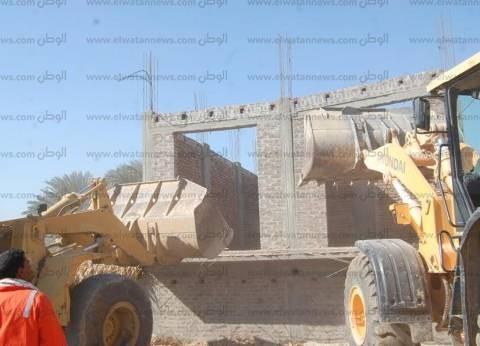 تنفيذ 24 قرار إزالة لتعديات على الأراضي الزراعية في سوهاج