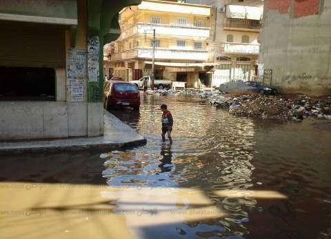 انقطاع الكهرباء عن 10 مناطق في كفرالدوار بسبب الأمطار