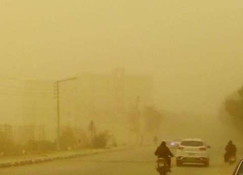 """""""البيئة"""": ارتفاع تركيزات الرمال والأتربة في محافظات مصر الوسطى"""