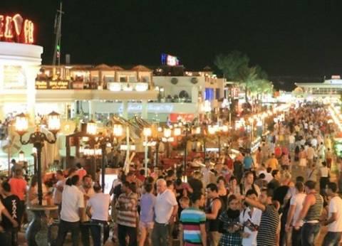 ارتفاع نسبة الإشغالات السياحية لـ65% بشرم الشيخ خلال شم النسيم