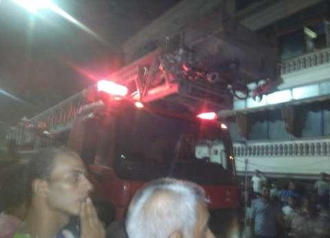 """السيطرة على حريق في """"شقة"""" بأكتوبر"""