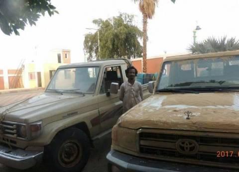 ضبط اثنين من المهربين و5 عربات تهريب في صحراء الداخلة بالوادي الجديد