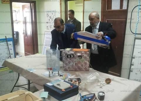 تجهير معرض لاختراعات تلاميذ المدارس في مطروح