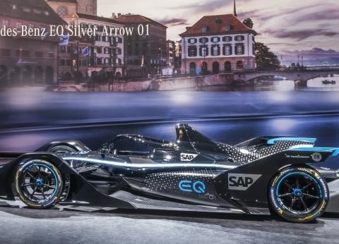 مرسيدس تستعد لبطولة ABB FIA Formula E بـEQ Silver Arrow 01