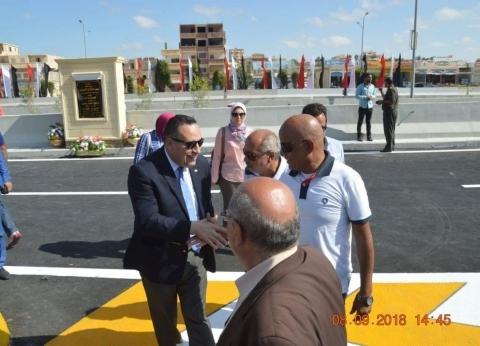 محافظ الإسكندرية يفتتح كوبري سيدي كرير الجديد غدا