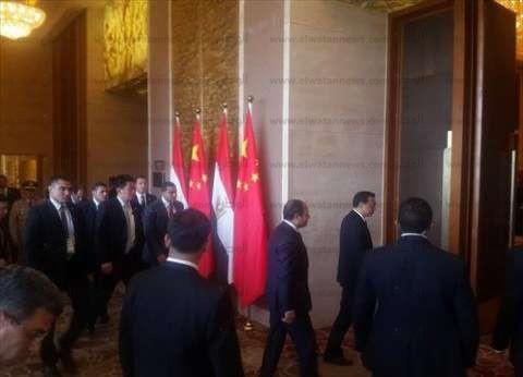 السيسي: نحرص على توفير التسهيلات لدعم الاستثمارات الصينية بمصر