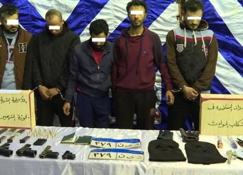 بالصور| مسروقات العصابة الدولية بالقاهرة: 100 مليون جنيه و20 كيلو ذهب