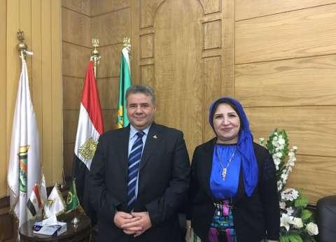 رئيس جامعة بنها يعين فاتن خربوش أمينا مساعدا لشؤون خدمة المجتمع