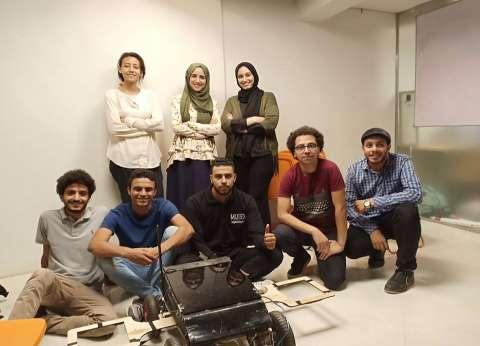 طلاب quotهندسة الزقازيقquot يشاركون في مسابقة دولية بـquotروبوت quotلكشف الألغام