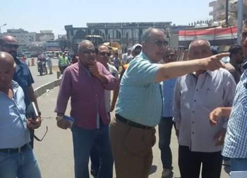 محافظ البحر الأحمر يتفقد أعمال تطوير الممشى السياحي في الغردقة
