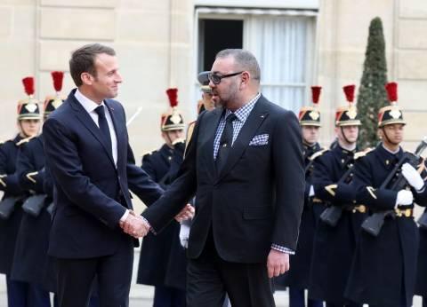 ماكرون يستقبل العاهل المغربي قبل اللقاء المقرر مع ولي العهد السعودي