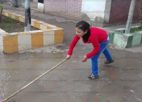 """مدرسة بكفر الشيخ عن استغلال الأطفال في """"التنظيف"""": لم يحدث.. كانت مبادرة وشاركوا بها"""