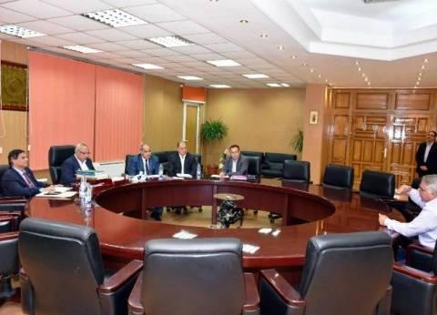 محافظ الشرقية يترأس لجنة لاختيار رؤساء وحدات محلية لمركز منيا القمح