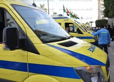 """""""الصحة"""": وفاة 4 مواطنين وإصابة 11 آخرين في حادث تصادم بالبحيرة"""