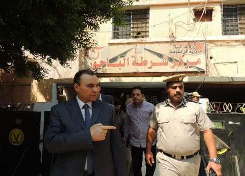 مدير أمن المنوفية الجديد يبدأ مهام عمله بالمرور على المنشآت الشرطية