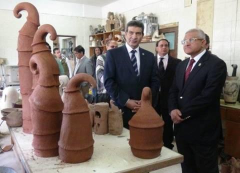 رئيس جامعة المنيا: الانتهاء من إنشاء مبنيين جديدين بالمدينة الجامعية