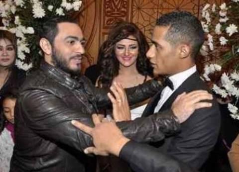 """تامر حسني الأول بإيرادات """"البدلة"""" على """"الديزل"""" في ثالث أيام العيد"""