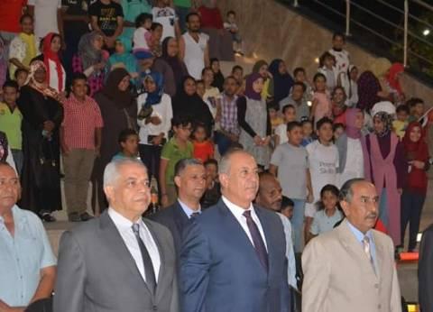 بدء احتفالات البحر الأحمر بثورة 30 يونيو بممشى النصر في الغردقة