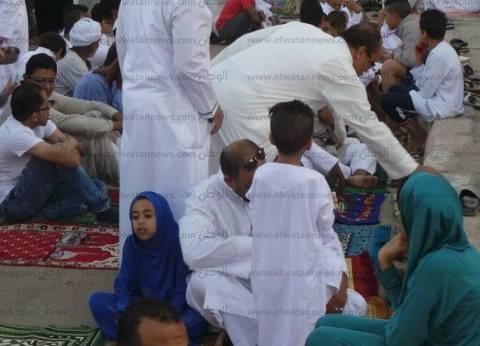 آلاف المصلين يؤدون صلاة عيد الأضحى في أسوان