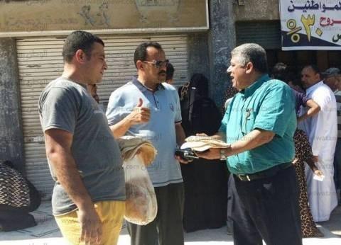 ضبط 4 من أصحاب المخابز لتلاعبهم بحصص الدقيق وأرغفة الخبز في الغربية