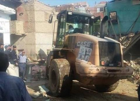 مصرع سيدة وإصابة أخرى إثر انهيار 10 عقارات جزئيا في الإسكندرية بسبب الأمطار