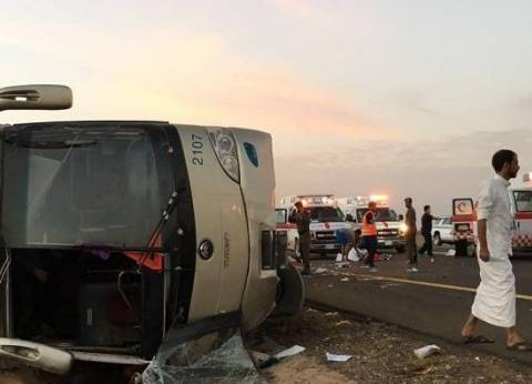 """القنصلية العامة بجدة تكلف فريقا للتوجه لمواقع جثامين حادث """"حافلة المعتمرين"""""""