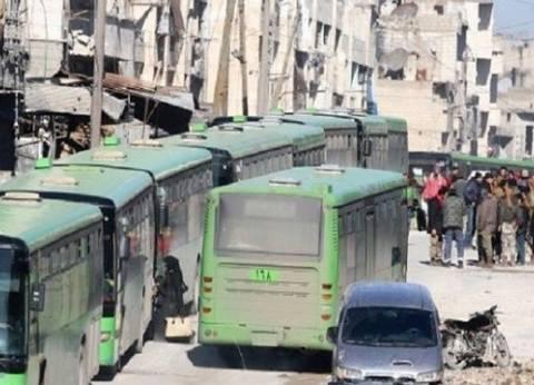 نزوح 4 آلاف شخص عن إدلب إلى حماة شمال غربي سوريا