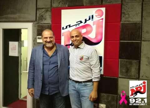 خالد الصاوي: استيقظت 7 أيام متواصلة للتحضير لفيلم الفيل الأزرق