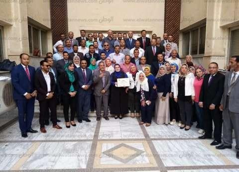 شمال سيناء تحصل على أفضل فريق جماعي في ورشة تدريبية بمركز سقارة