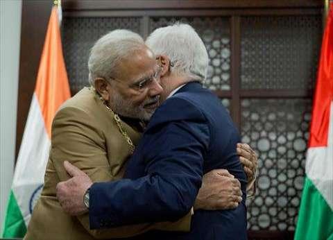 مودي في رام الله في أول زيارة لرئيس وزراء هندي إلى الضفة الغربية