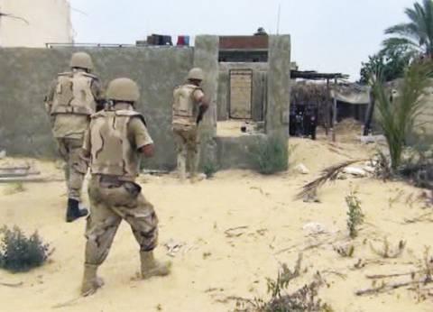 عاجل| انتشار مكثف لقوات من الجيش الثالث الميداني في وسط سيناء