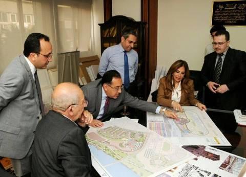 """""""مدبولي"""" يناقش المخطط العام لامتداد مدينة الشيخ زايد"""