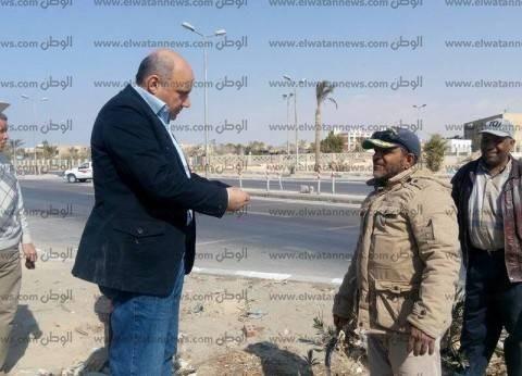 بالصور| رئيس مدينة رأس سدر الجديد يشدد على ضرورة النظافة والالتزام بالتسعيرة