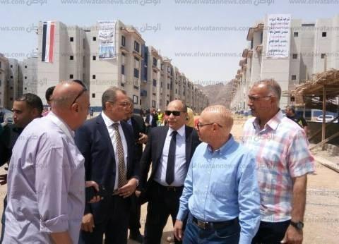 مدير تعمير منطقة جنوب سيناء: 90% تنفيذ إسكاني الرويسات والبدوي