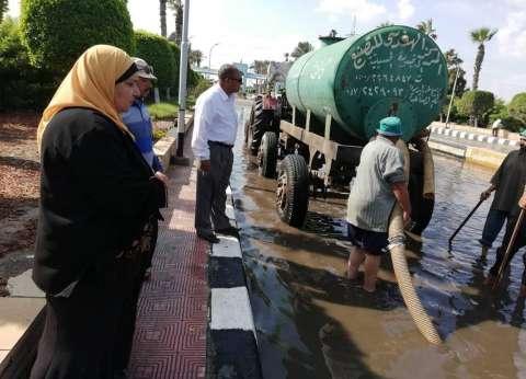 أمطار خفيفة فى الإسكندرية.. والمحافظة تعلن الطوارئ