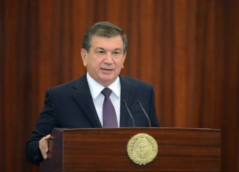 تعرف على رئيس دولة أوزبكستان التي يزورها الرئيس السيسي