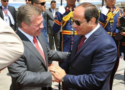 غدا.. السيسي يزور الأردن لبحث تطورات الأوضاع والقضايا الإقليمية