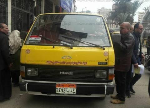 ضبط 187 مخالفة لسيارات النقل الثقيل في المحافظات خلال 24 ساعة