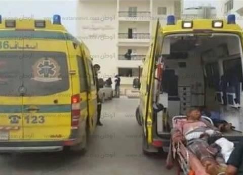 وصول 9 جثث لشهداء أتوبيس المنيا إلى مستشفى مطاي
