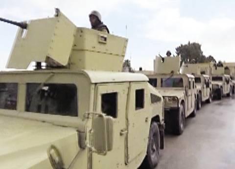 اليوم الثالث لـ«حق الشهيد 2»: الجيش يقتل 32 تكفيرياً ويدمر 19 بؤرة إرهابية.. ويقصف سيارات «بيت المقدس»