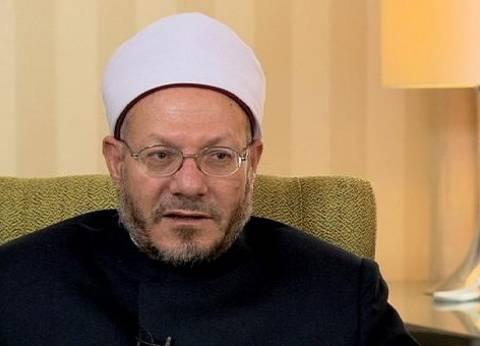 المفتي يدين الهجوم الإرهابي على كنيسة حلوان وينعى شهداء الحادث